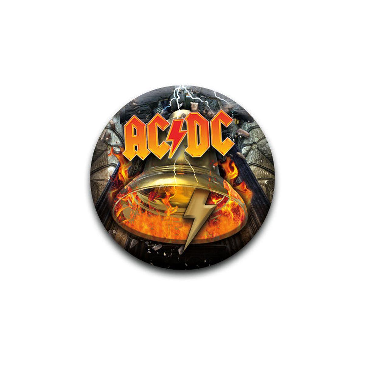AC/DC Hells Bells Logo Pin