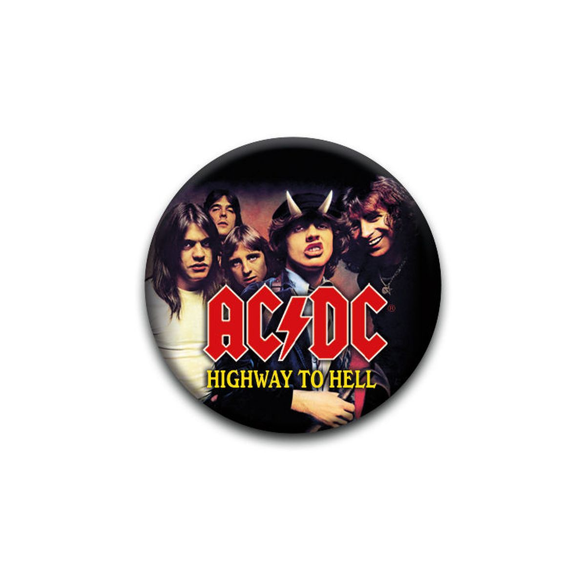 AC/DC Highway to Hell Album Pin