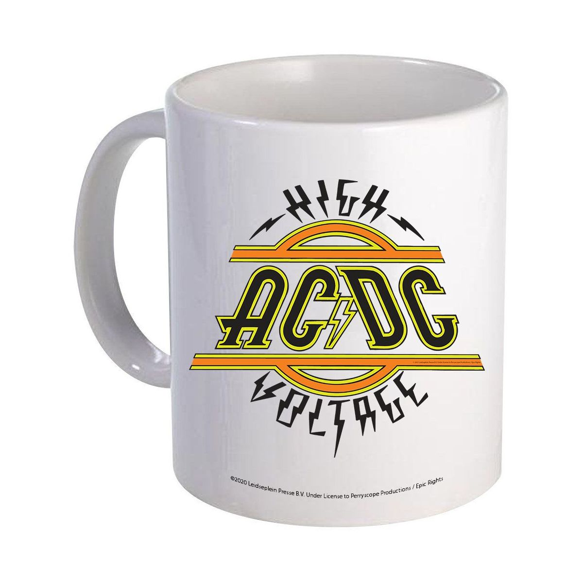 High Voltage Logo Mug