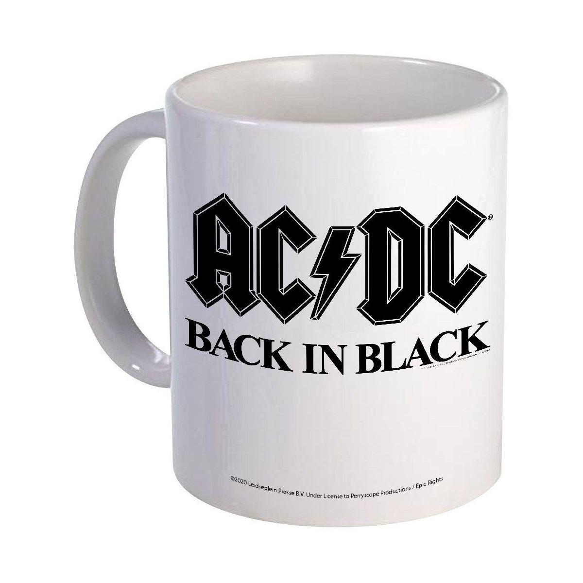 Back In Black Type Mug