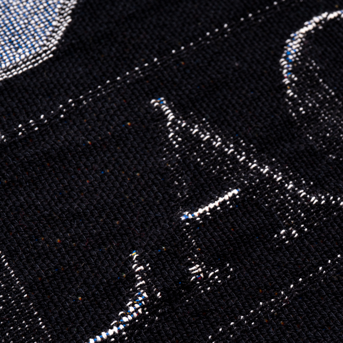 AC/DC Back in Black 40th Anniversary Throw Blanket