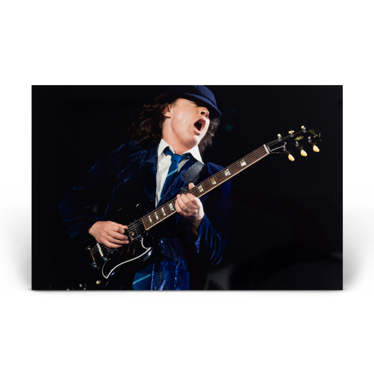 AC/DC Angus Young Live Photo Print