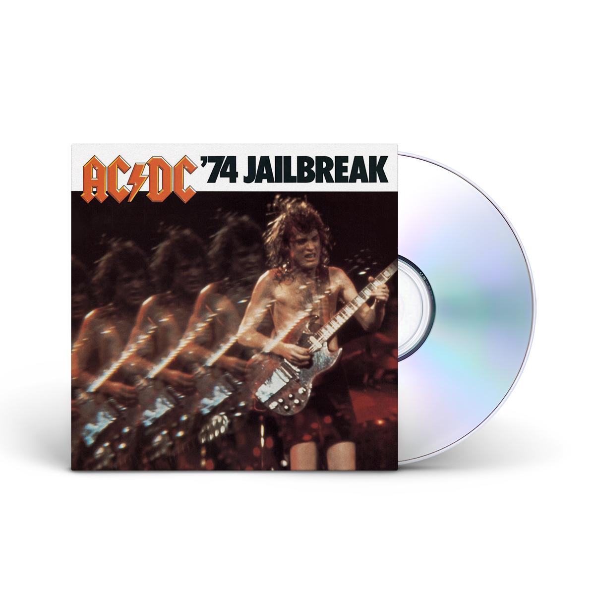 AC/DC 74 Jailbreak CD
