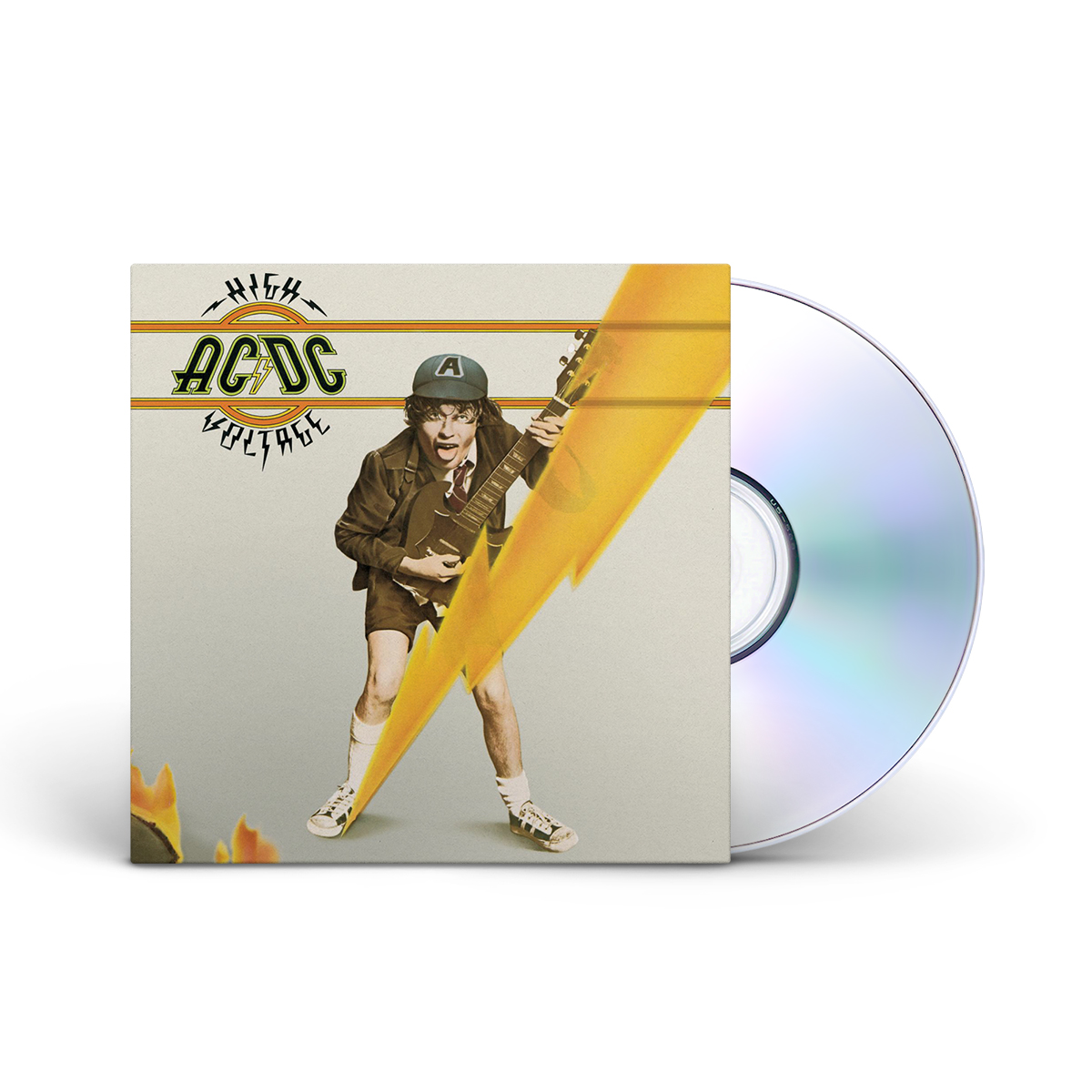 AC/DC High Voltage CD