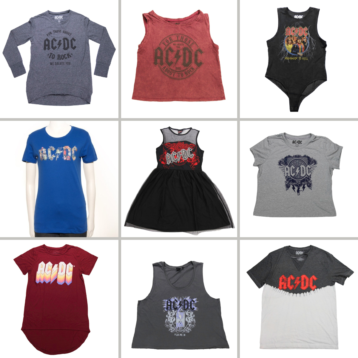 AC/DC Women's Rockware Grab Bag