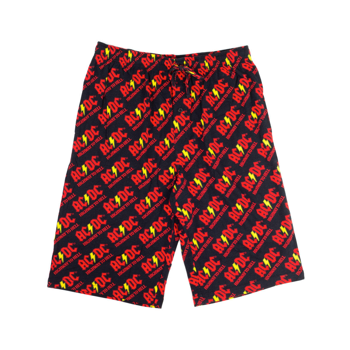 AC/DC Highway to Hell Black Shorts
