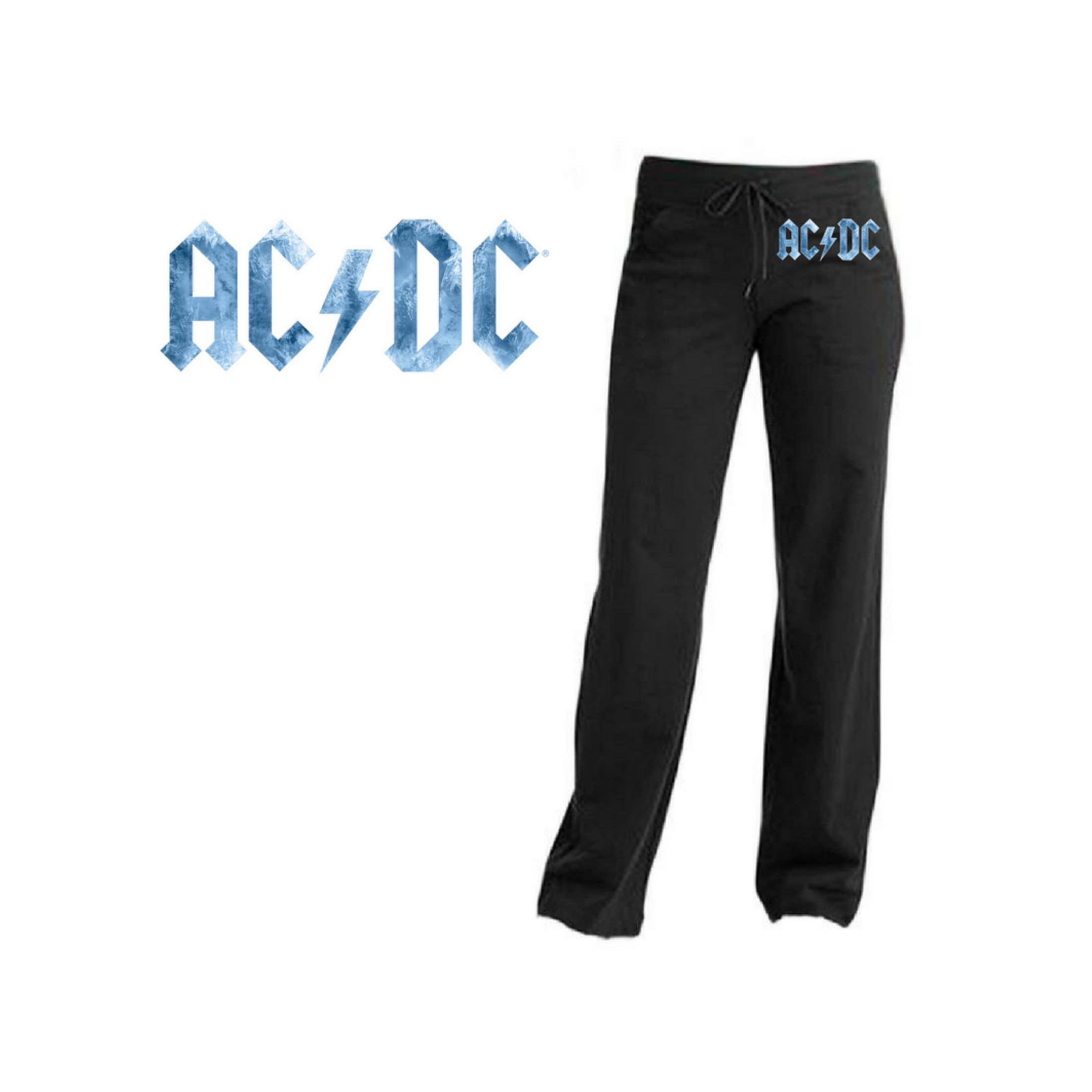 AC/DC Ice Logo Yoga Pants