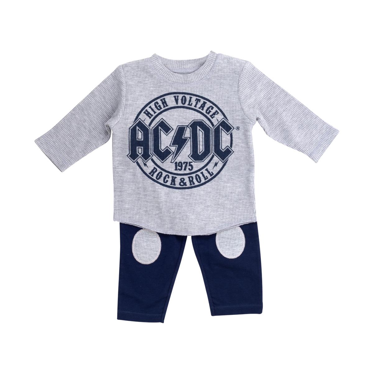 AC/DC High Voltage Rock & Roll Pajama Set