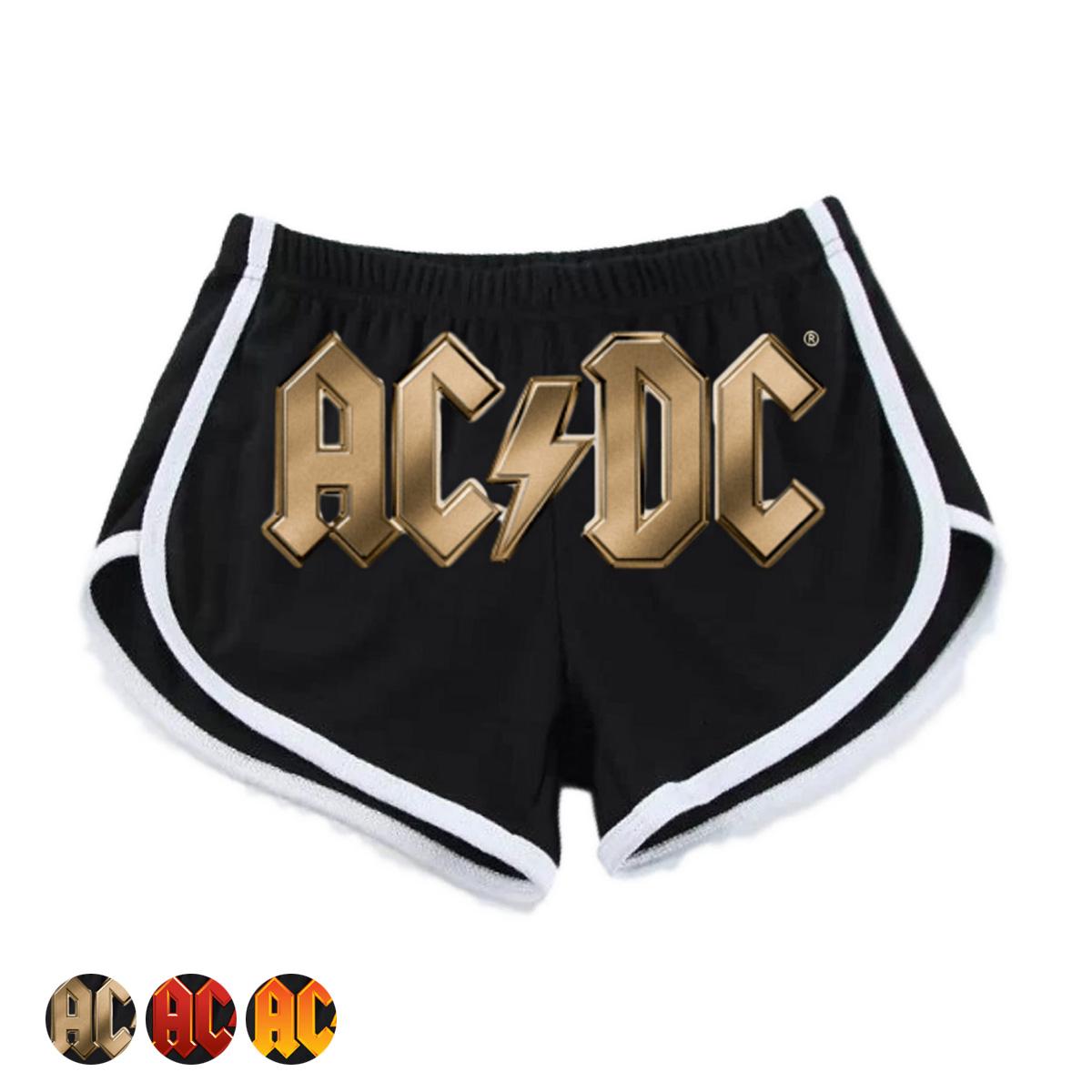 AC/DC Logo Women's Jogging Shorts