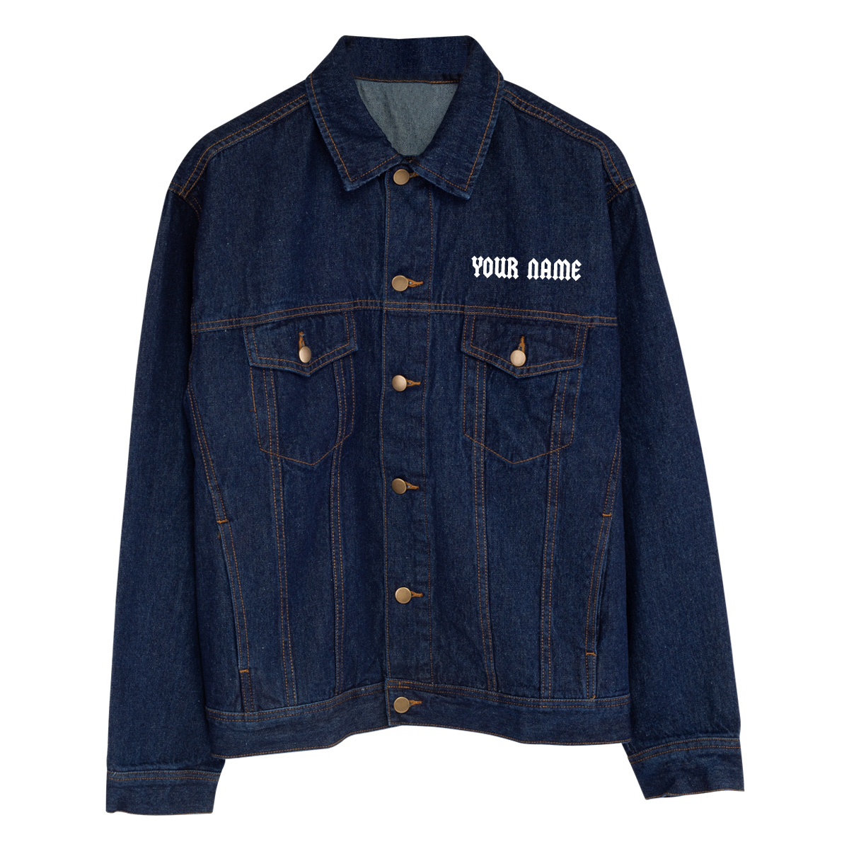 Highway To Hell Personalized Jean Jacket