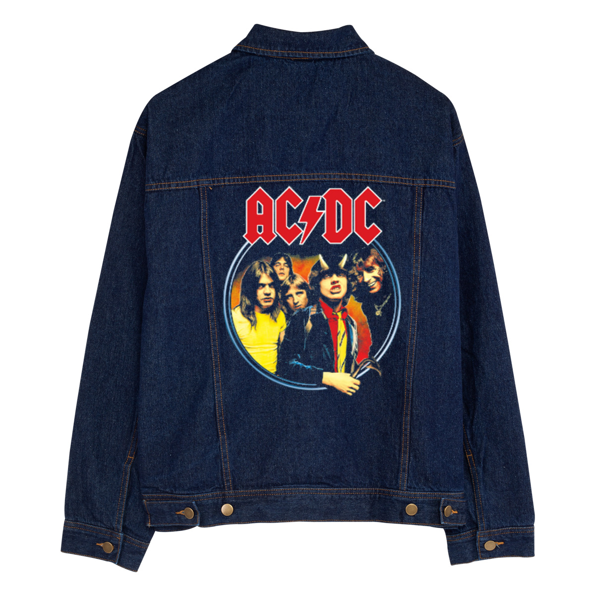 Highway To Hell Jean Jacket