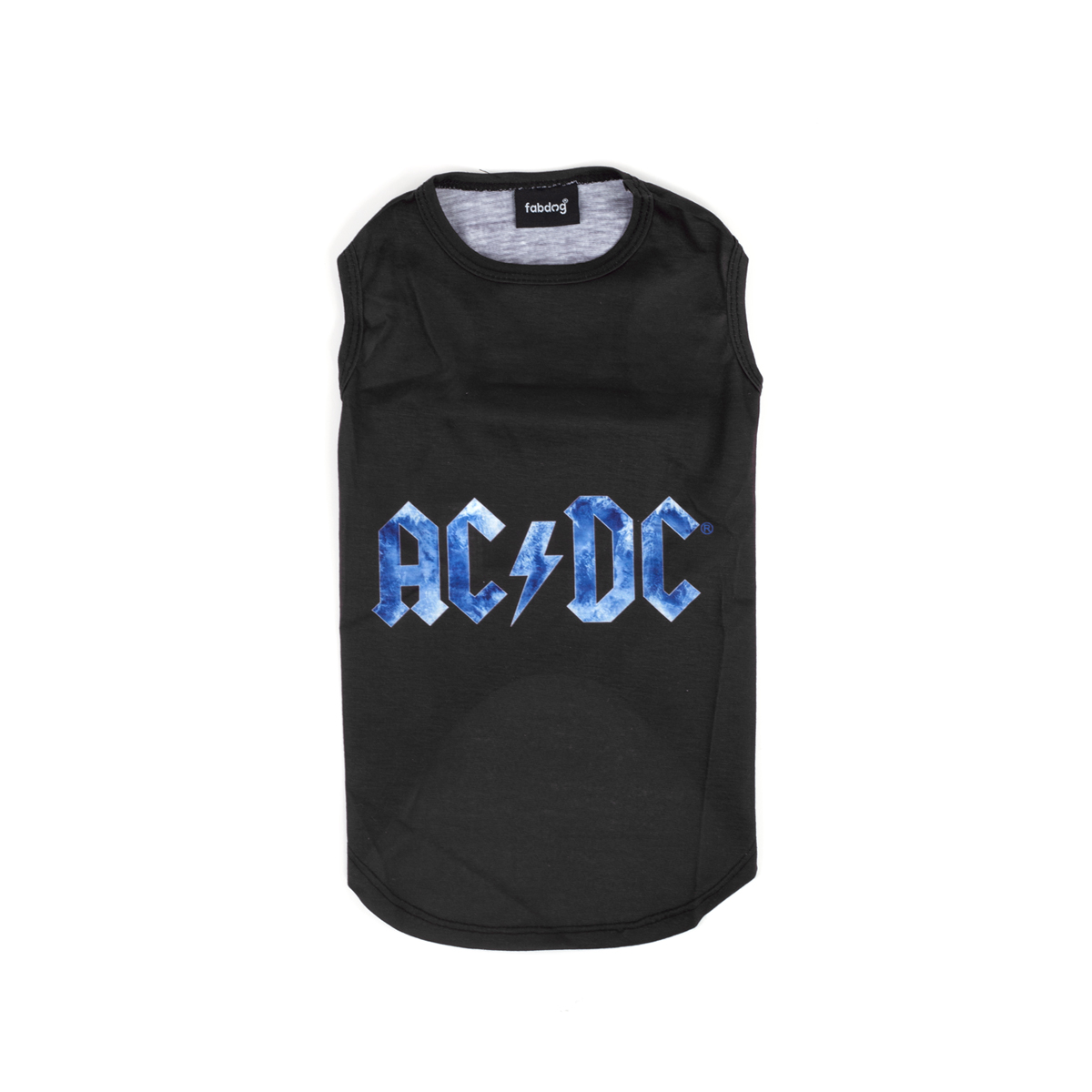AC/DC Dog Ice Blue Logo Shirt