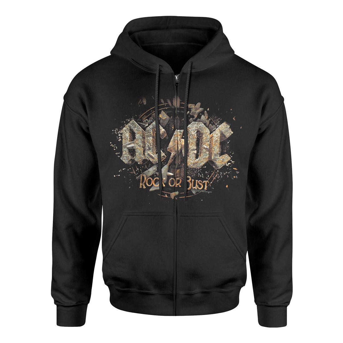 AC/DC Rock or Bust Black Hoodie