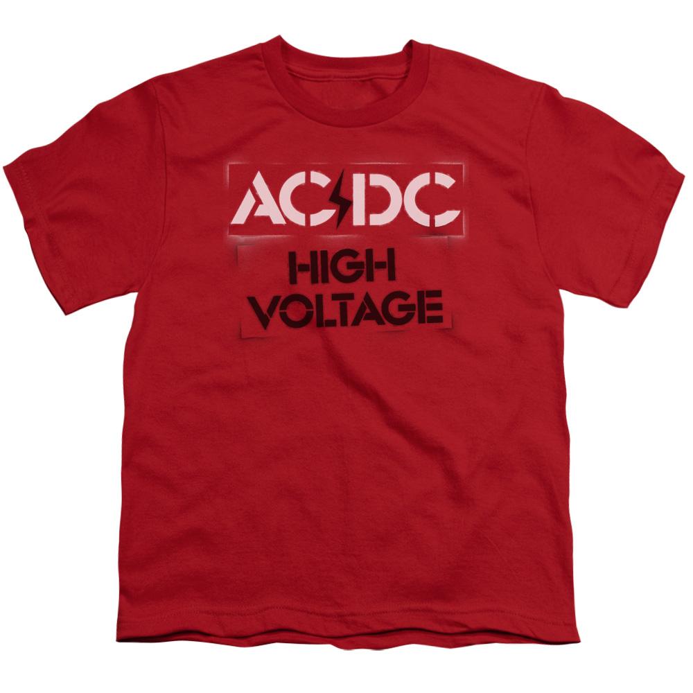 High Voltage Stencil Youth Logo