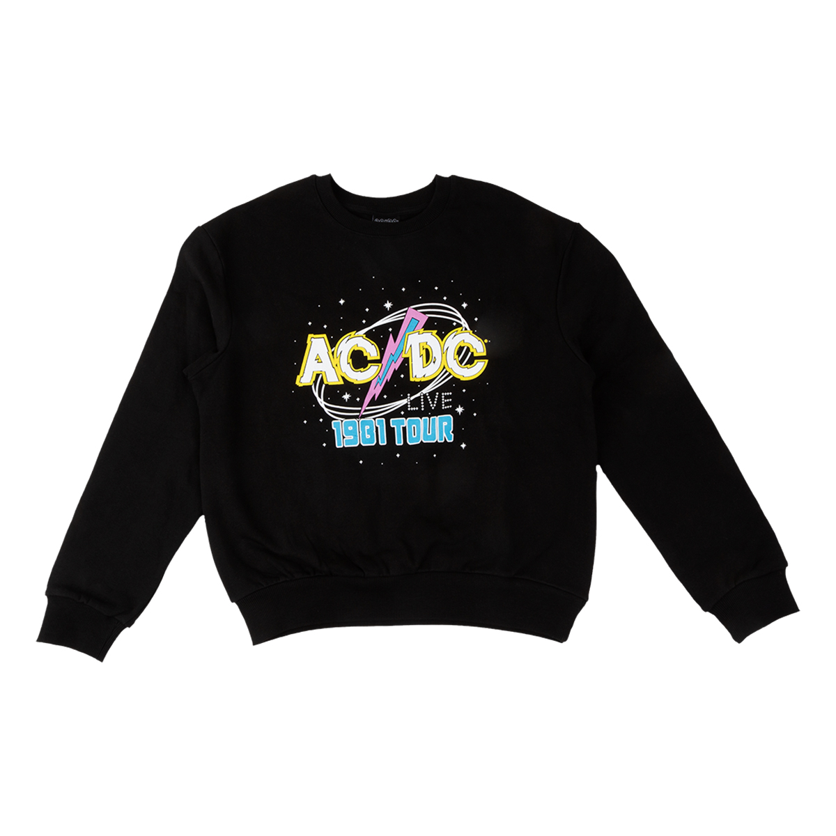 AC/DC Live 1981 Tour Crew Neck Sweatshirt