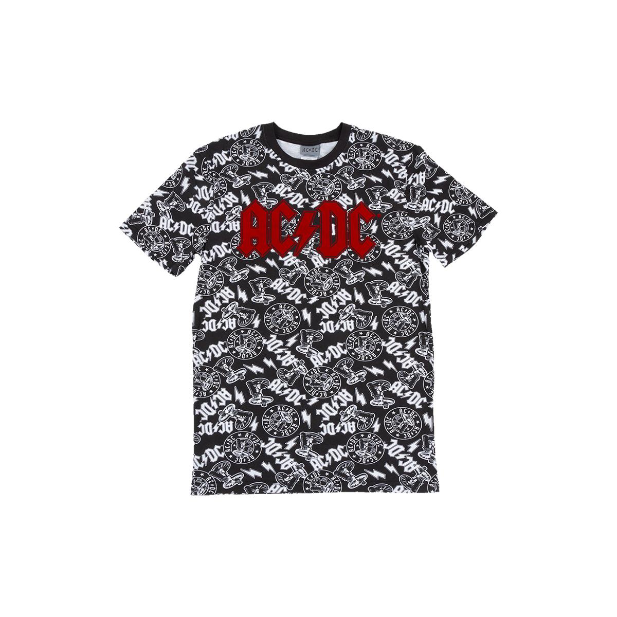 AC/DC Multi Logo T-shirt