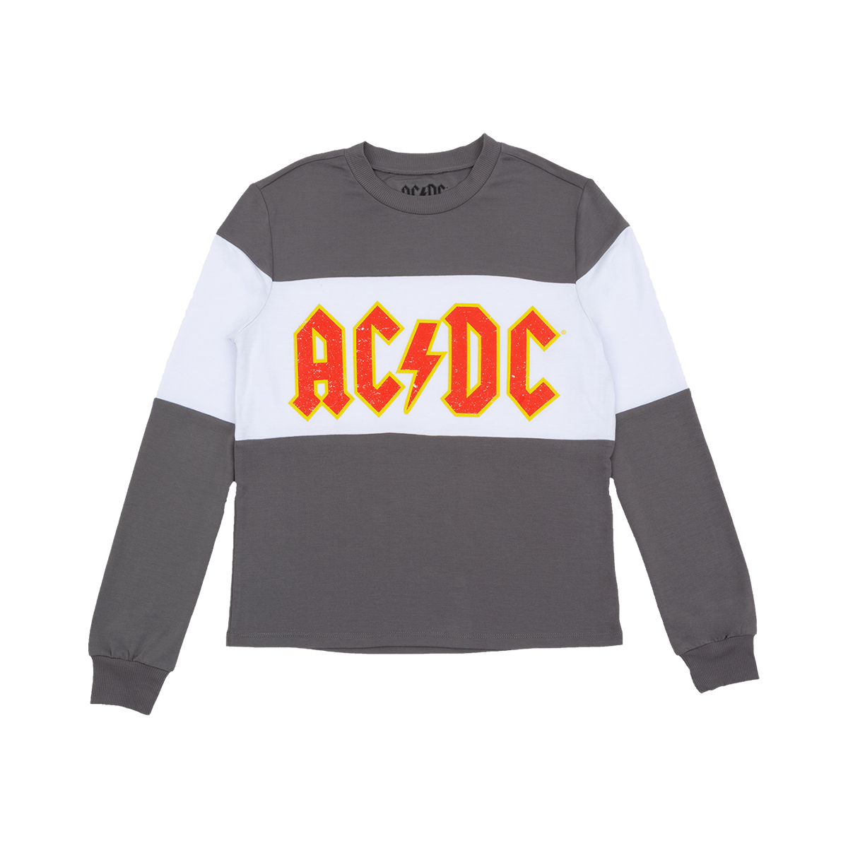 AC/DC Longsleeve Crew Neck T-shirt