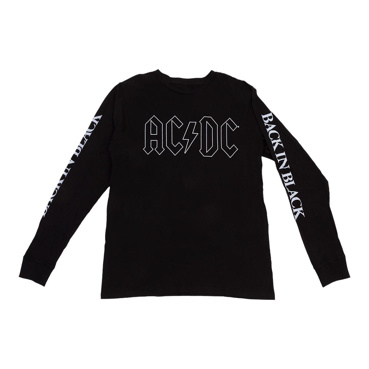AC/DC Back in Black Longsleeve Tee