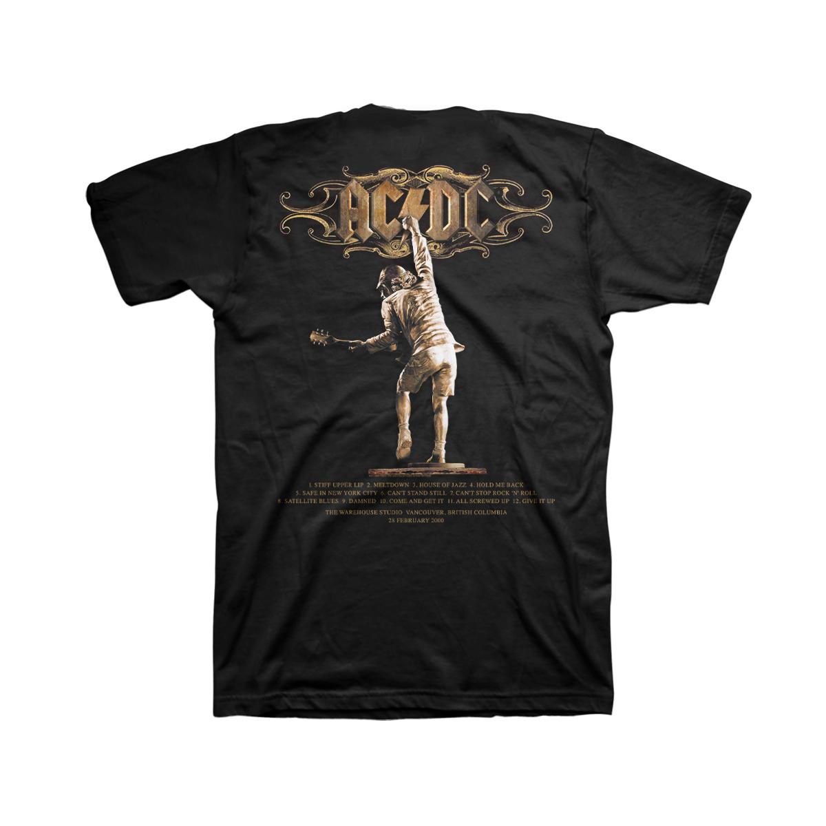 AC/DC Stiff Upper Lip Anniversary T-shirt