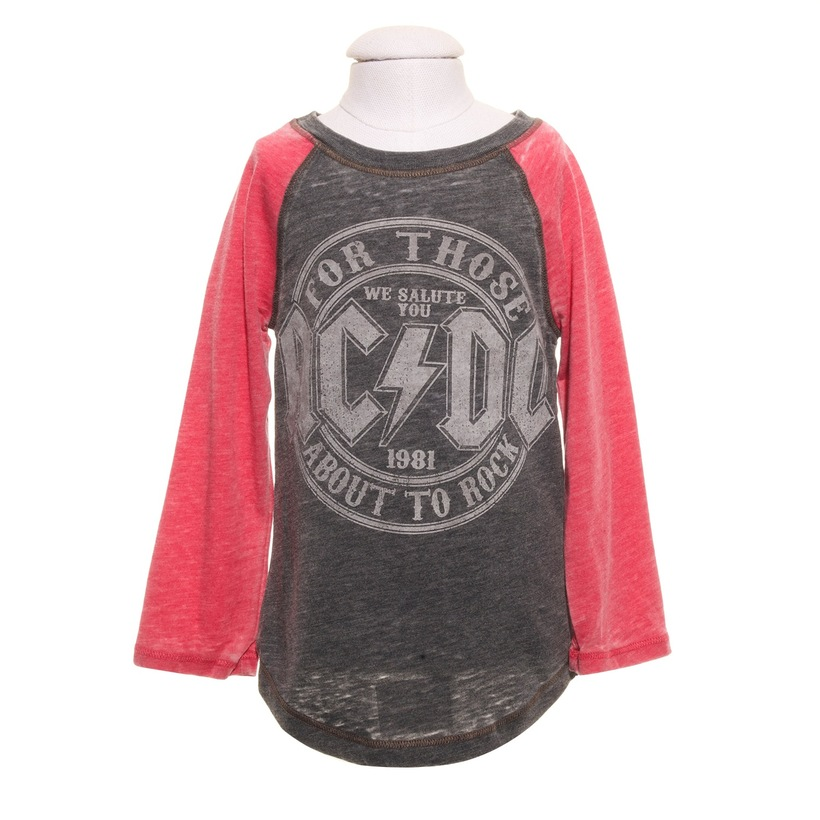 Toddlers For Those About To Rock Raglan