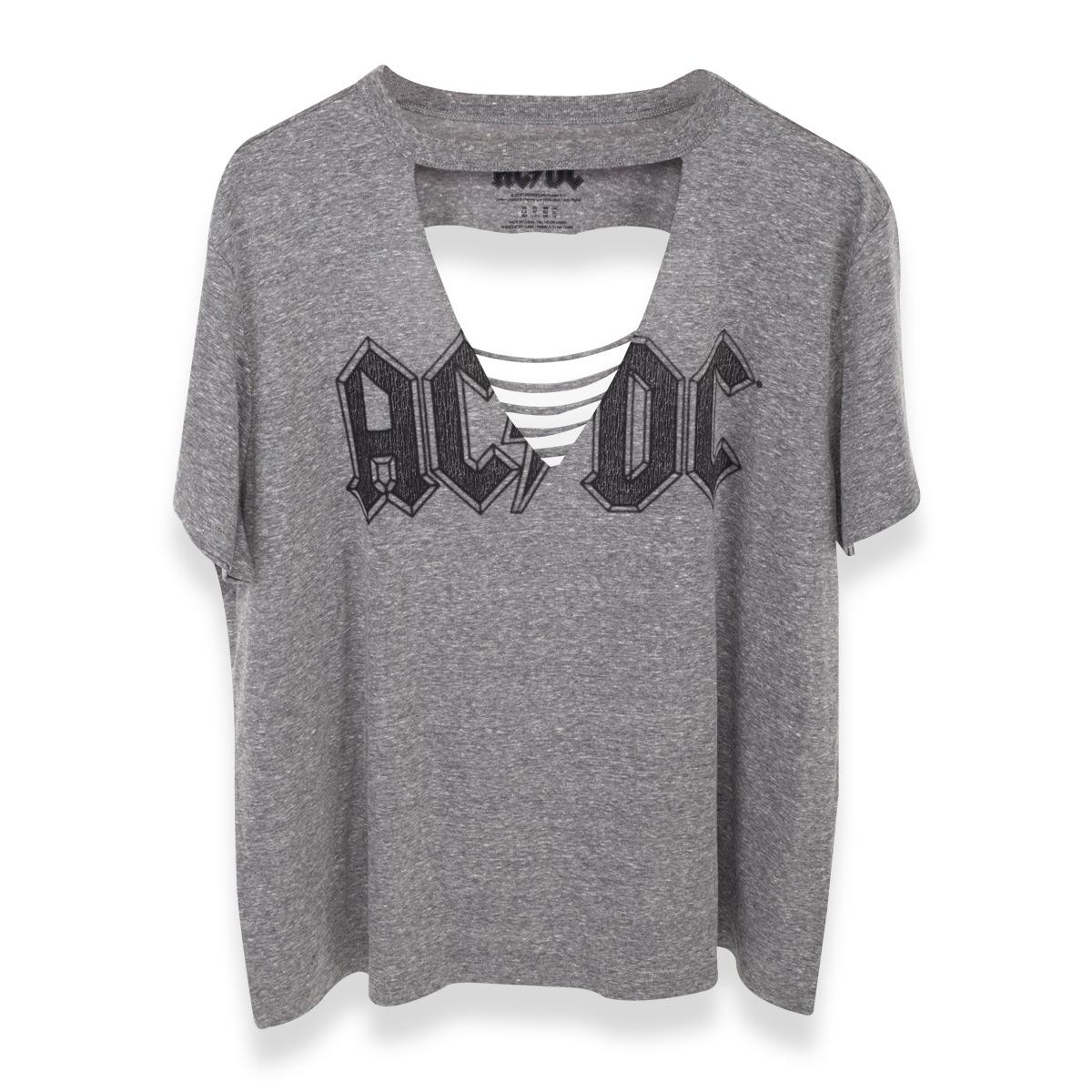 AC/DC Lightning V Neck