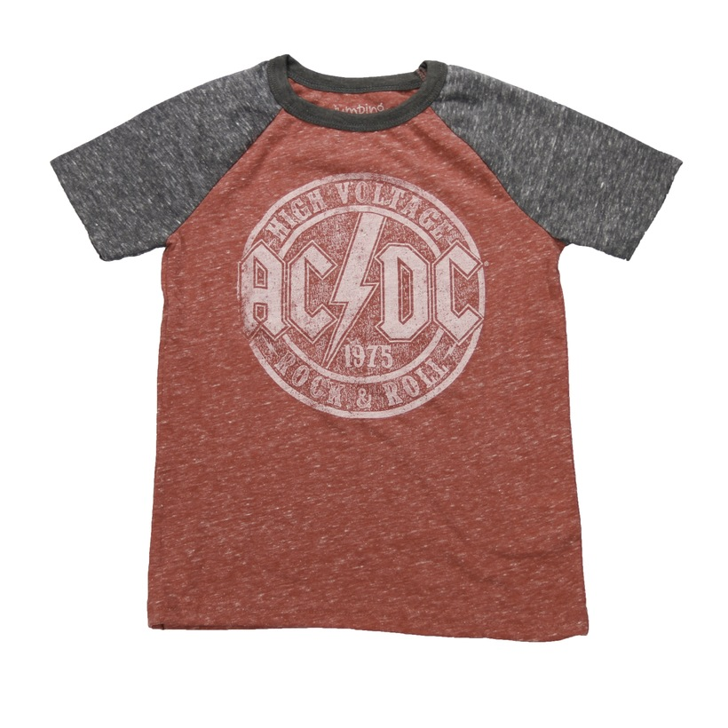 High Voltage Rocker Red Toddler T-Shirt