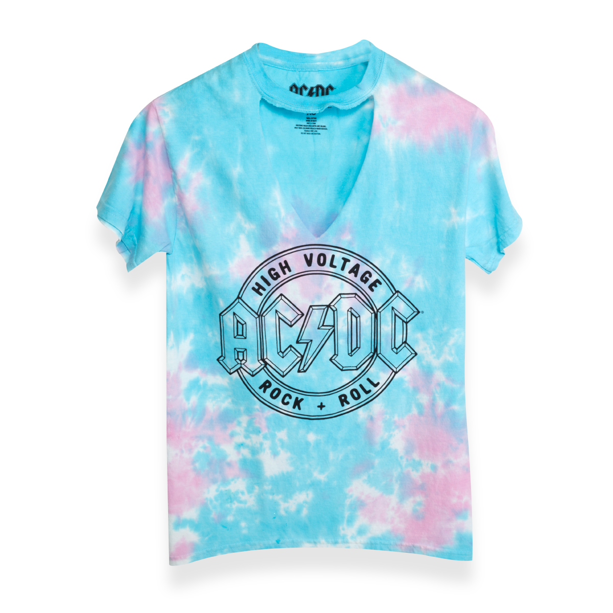 Girls High Voltage R&R Pastel Tee