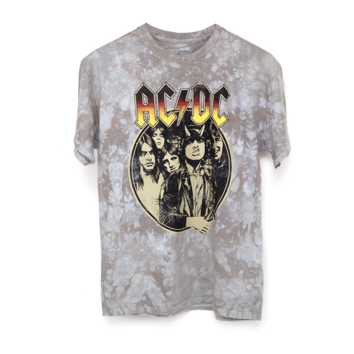 AC/DC Highway to Hell Tie Dye Men's T-Shirt