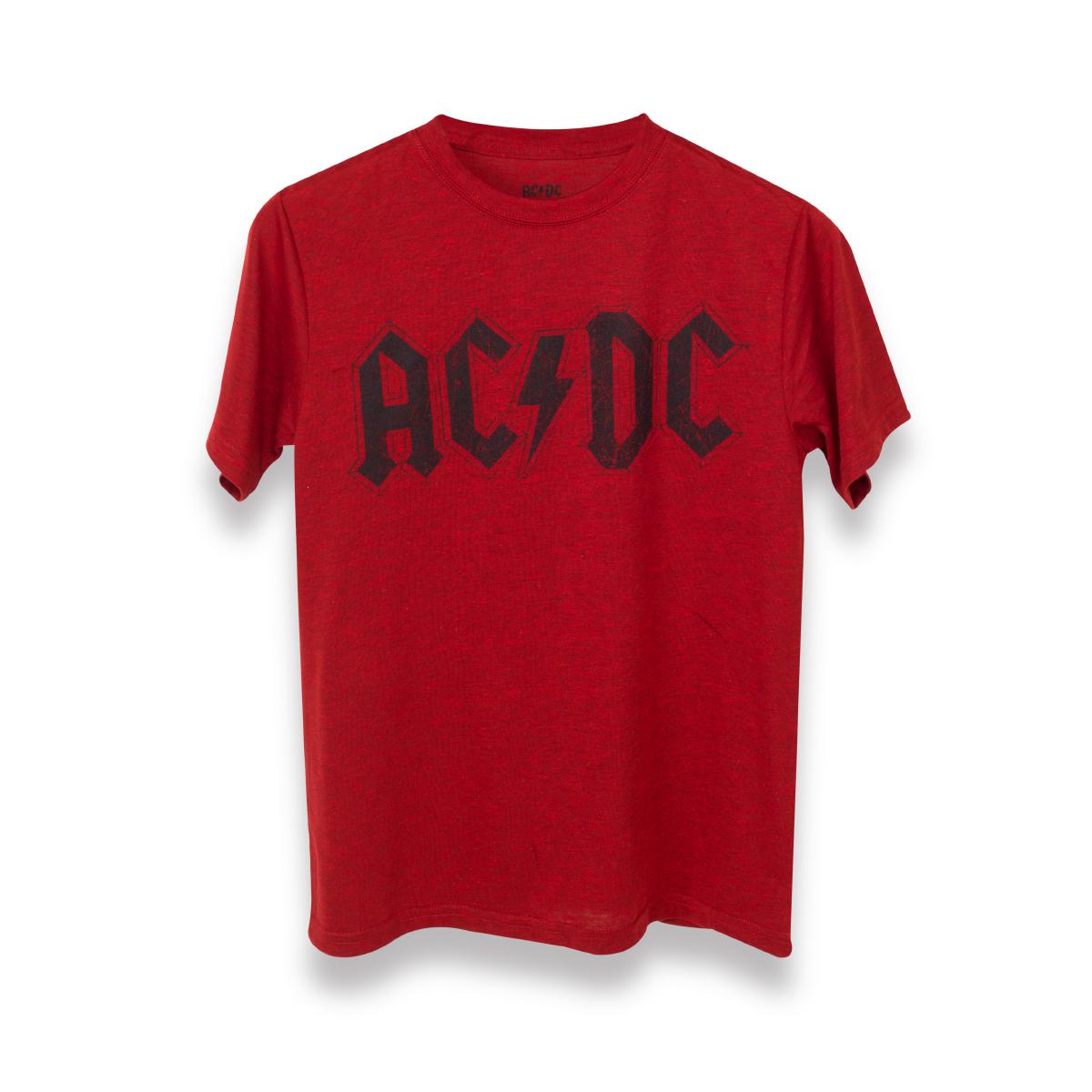 ac dc black logo red kids t shirt shop the ac dc. Black Bedroom Furniture Sets. Home Design Ideas