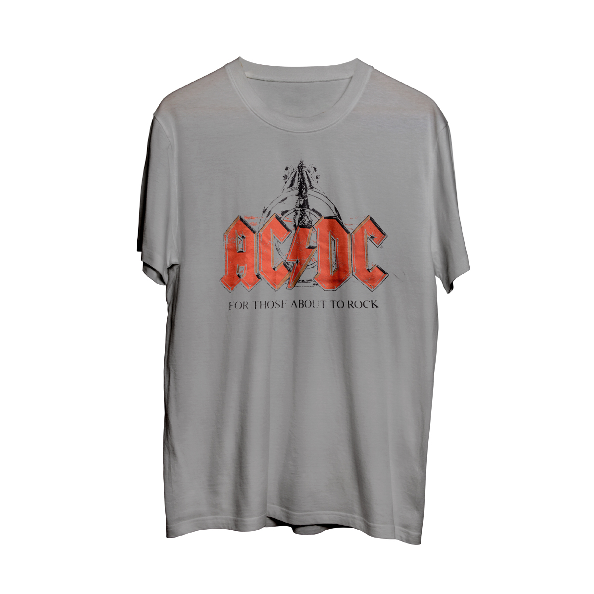 AC/DC For Those About To Rock Grey T-Shirt