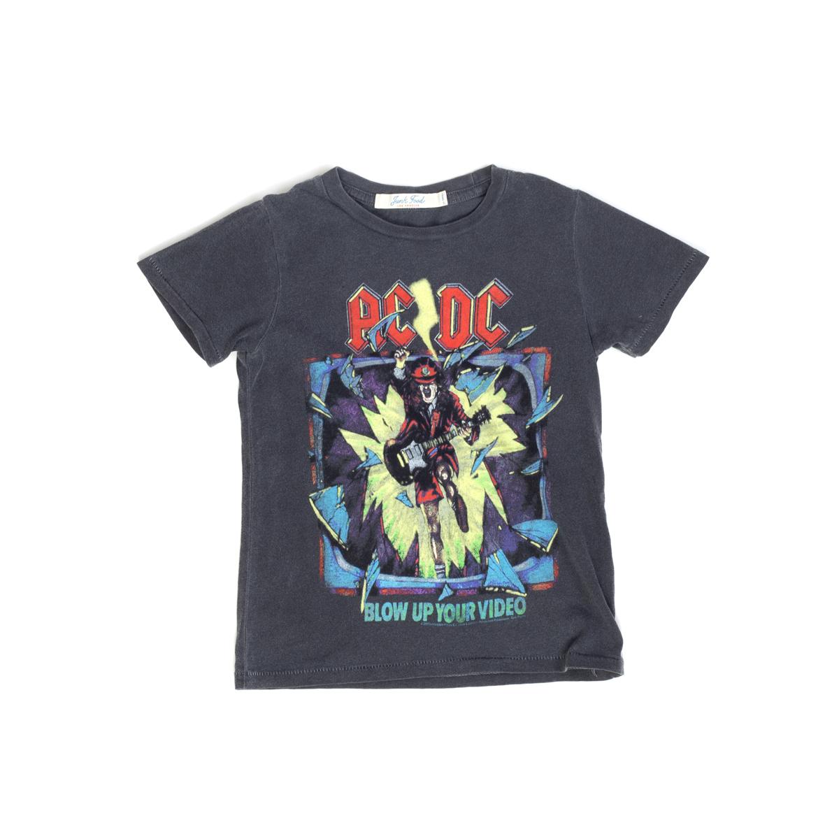 AC/DC Blow Up Your Video Grey Kids T-Shirt