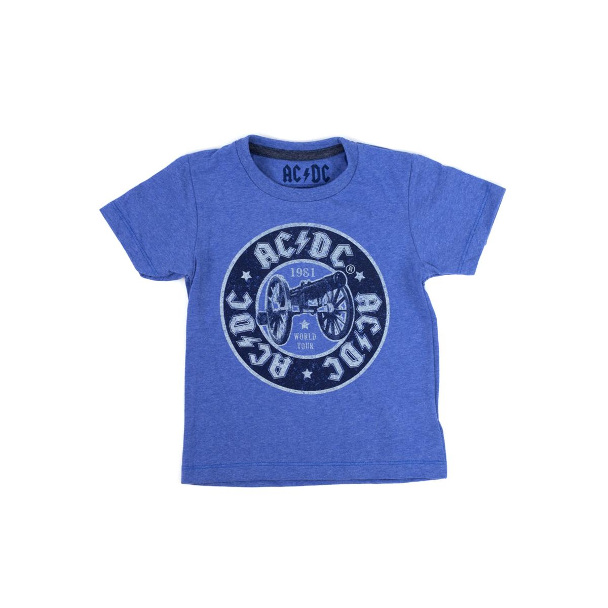 AC/DC Cannon Logo Purple Toddler T-shirt