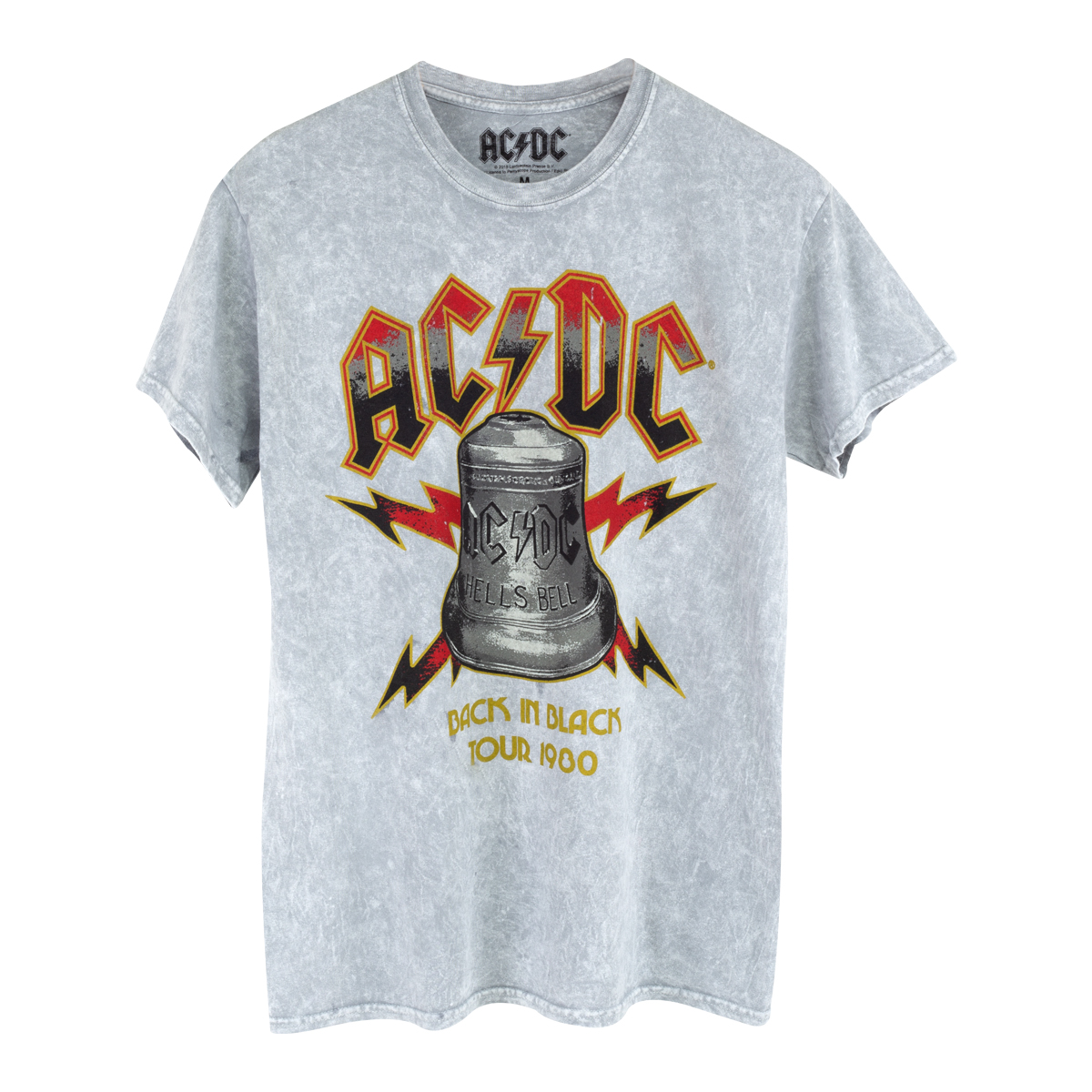AC/DC Back in Black 1980 Tour T-shirt