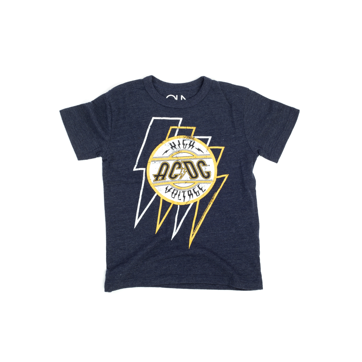 AC/DC Bolted Voltage Boys Crewneck T-shirt