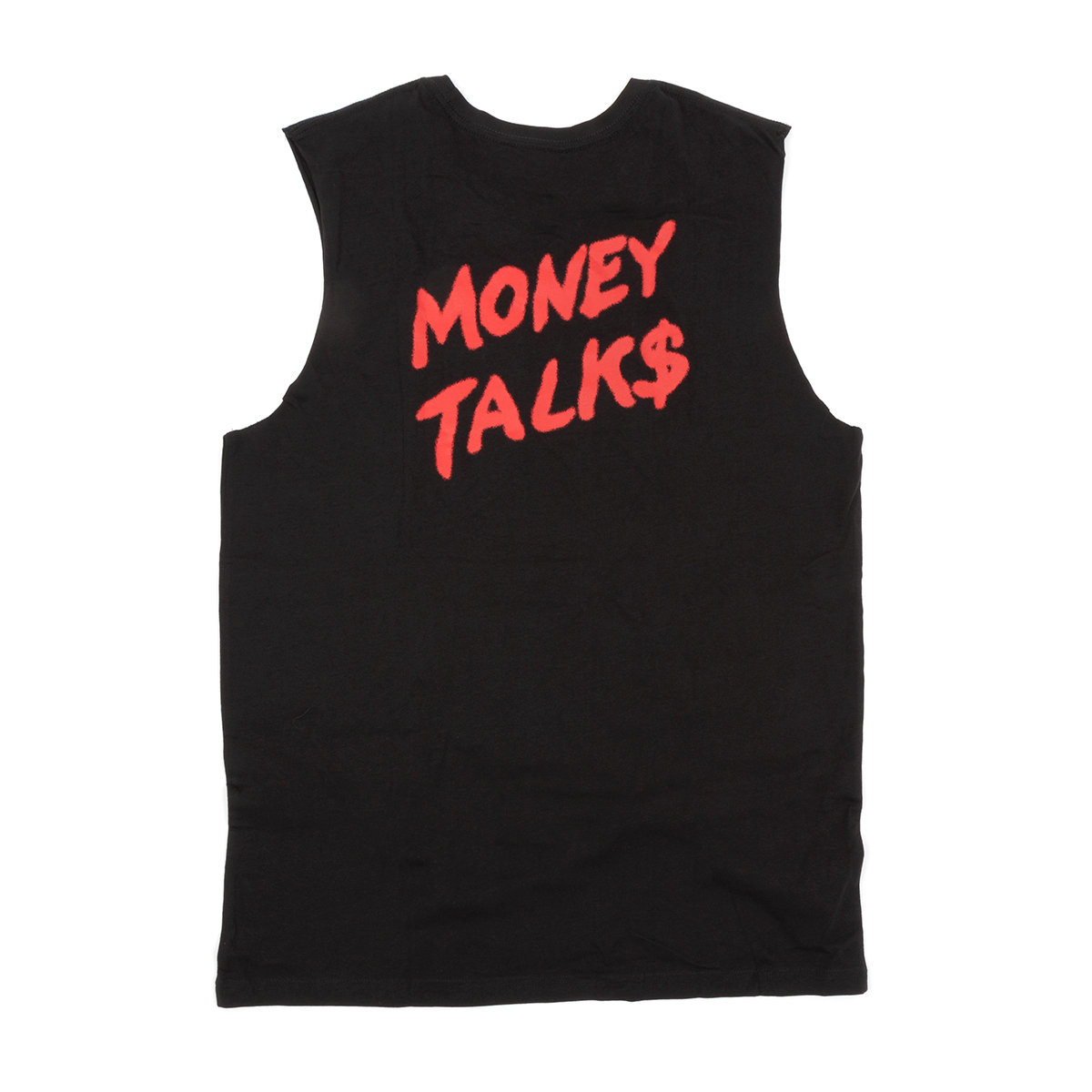 AC/DC - Money Talk$ Black Sleeveless Tank W/ Red Logo
