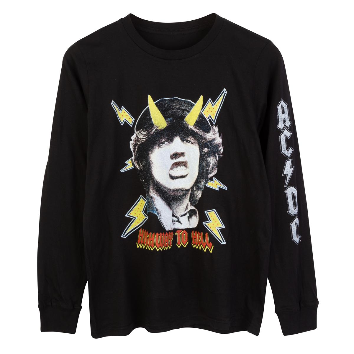 AC/DC Highway To Hell Black Long Sleeve T-shirt