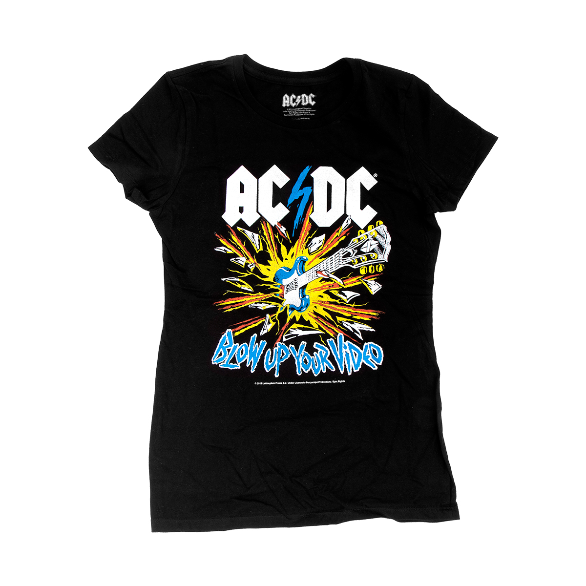 AC/DC Womens Blow Up Your Video T-Shirt