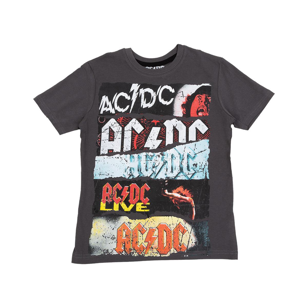 AC/DC Multi Album Broken Mirror Juniors T-Shirt