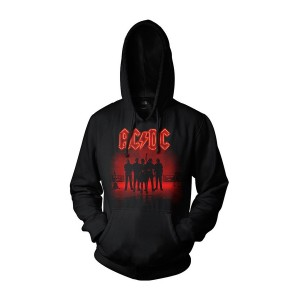 POWER UP Band Silhouette Hoodie