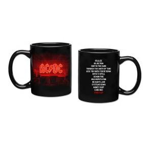 POWER UP 11oz Black Coffee Mug