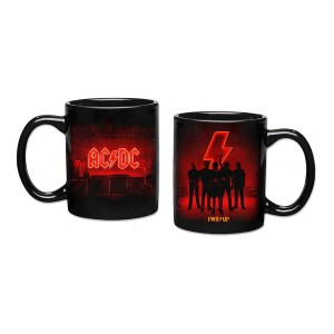 POWER UP 11oz Black Logo and Band Coffee Mug