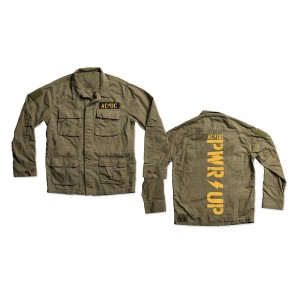 POWER UP Army Jacket
