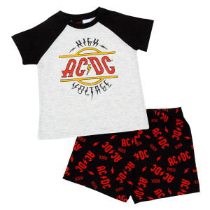 AC/DC High Voltage Youth Pajama Set
