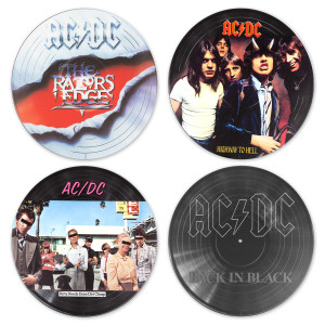 "AC/DC ""Vinyl Revolution"" Wall Art Collection"