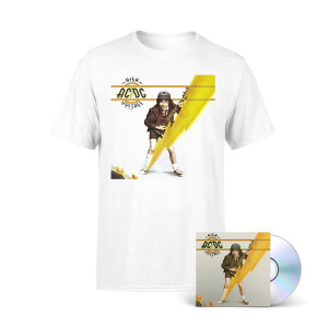 High Voltage Cover T-Shirt + AC/DC High Voltage CD Bundle