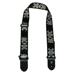 Grey Logo Guitar Strap