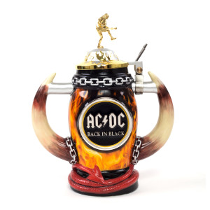 AC/DC Beer Stein Back in Black