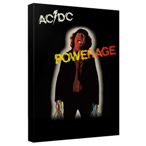 AC/DC - Powerage Cover - Quickpro Artwrap Back Board - White [20 X 30]