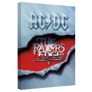 AC/DC - The Razors Edge Cover - Quickpro Artwrap With Back Board - White [20 X 30]