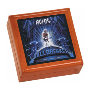 Ballbreaker Wooden Keepsake Box